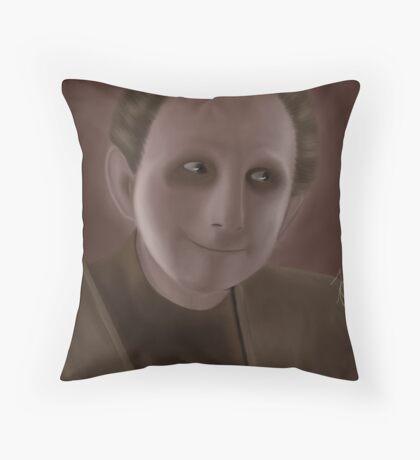 Odo Throw Pillow