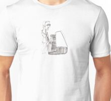 SIng us a song, Mr Piano Man Unisex T-Shirt