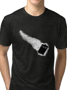 Doctor Who TARDIS - Minimalist Tri-blend T-Shirt