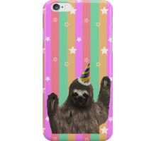 Party Animal - Sloth iPhone Case/Skin
