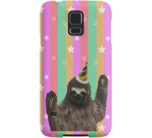 Party Animal - Sloth Samsung Galaxy Case/Skin
