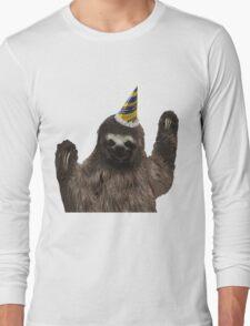 Party Animal - Sloth Long Sleeve T-Shirt