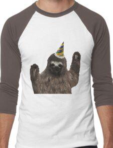Party Animal - Sloth Men's Baseball ¾ T-Shirt