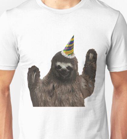 Party Animal - Sloth Unisex T-Shirt