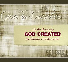 ~ God is Creative ~ by Donna Keevers Driver