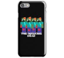 Minecraft - walking dead iPhone Case/Skin