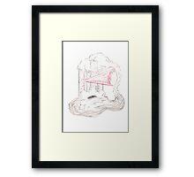 Steampunk Cloud Framed Print