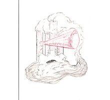 Steampunk Cloud Photographic Print