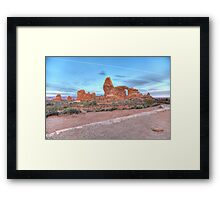 Early Morning Turret Arch Framed Print