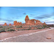 Early Morning Turret Arch Photographic Print