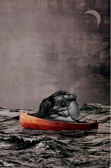 on the sea by Loui  Jover