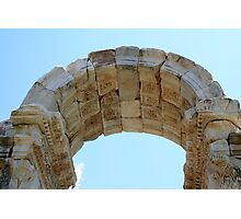 Arched Gate of The Tetrapylon Photographic Print