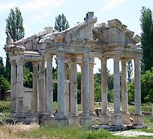 Tetrapylon; The Arched Gate of Aphrodisias by taiche