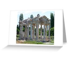 Tetrapylon; The Arched Gate of Aphrodisias Greeting Card