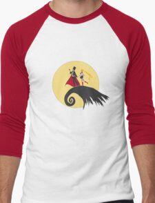 a sailor christmas Men's Baseball ¾ T-Shirt