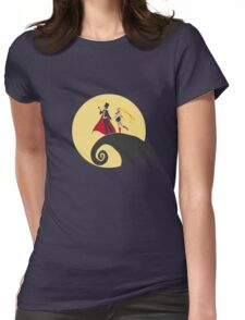 a sailor christmas Womens Fitted T-Shirt