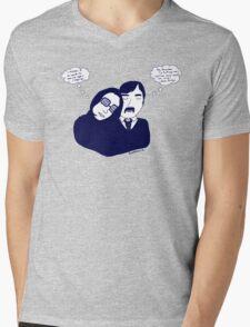 first date Mens V-Neck T-Shirt