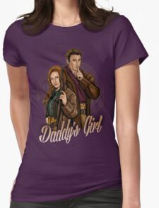 Daddy's Girl Womens Fitted T-Shirt