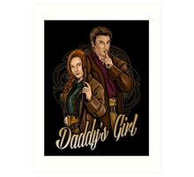 Daddy's Girl Art Print