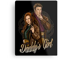 Daddy's Girl Metal Print