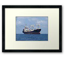 Cargo Ship Beril 1 Framed Print