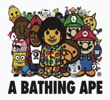 A Bathing Ape by phatshirts
