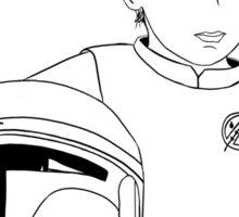 The Rise of Boba Fett - Black Sticker