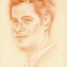 Prince Harry - original pastel drawing by Paulette Farrell