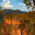 Cliff face near Hanging Rock by Michael Matthews