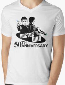 50th anniversary spoilers Mens V-Neck T-Shirt