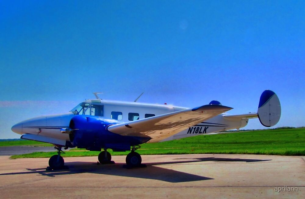 1956 Beechcraft M18 at North Texas Regional Airport by aprilann