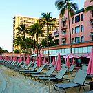 Pink Palace - Royal Hawaiian by Chris Brunton