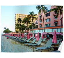 Pink Palace - Royal Hawaiian Poster