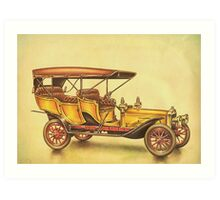 Old Cars Series #6 Art Print