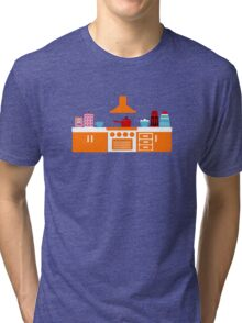Retro Kitchen Tri-blend T-Shirt