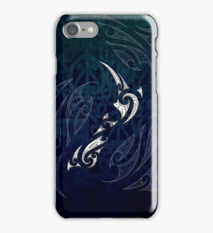 Aotearoa Moko Map iPhone Case/Skin