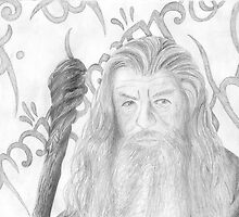 Gandalf the grey sketch by ChrisNeal