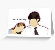 Jim and Pam - Custom L.C. Greeting Card