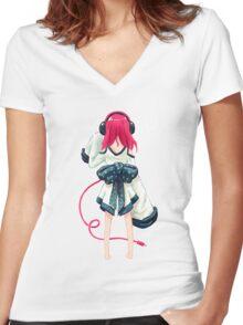 Rhythm Women's Fitted V-Neck T-Shirt