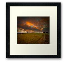 Storms End Framed Print