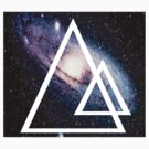 Galaxy Triangle by TheHipsterStore