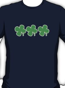 3 Clovers St Patricks Day T-Shirt