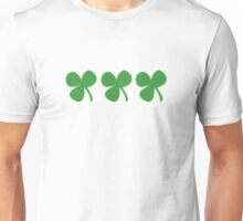 3 Clovers On A Shirt St Patricks Day Unisex T-Shirt