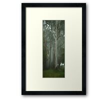 Giants  (Vertical Panoramic) - Mount Wilson NSW - The HDR Experience  Framed Print
