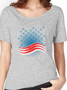 4th July - Independence Day - American Flag Women's Relaxed Fit T-Shirt