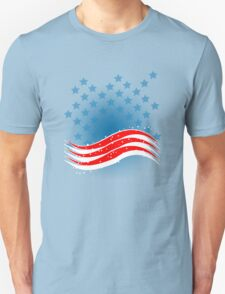 4th July - Independence Day - American Flag T-Shirt