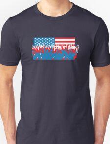 4th July Flag Celebrations Unisex T-Shirt