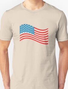 American Flag Wave T-Shirt