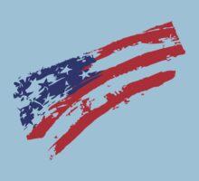 Graffiti USA Flag Kids Clothes