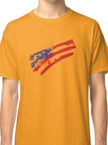 Graffiti USA Flag Classic T-Shirt